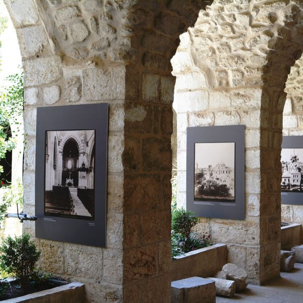 Ausstellung des Leibniz-Instituts im Kreuzgang der Propstei