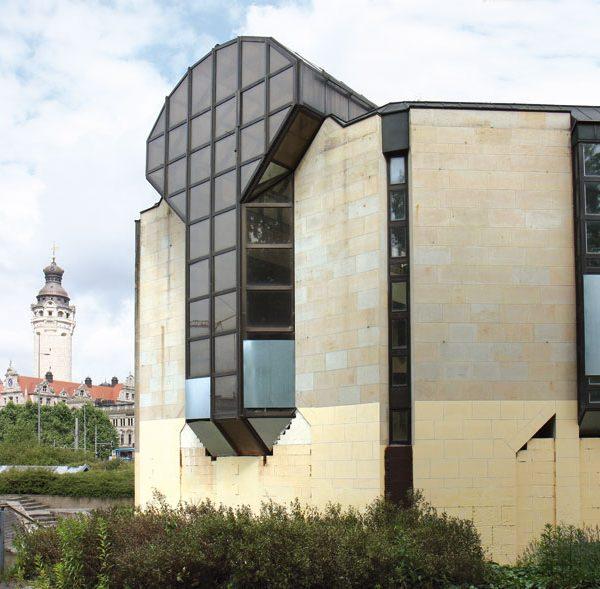 Das Gebäude im ruinösen Zustand, um 2012