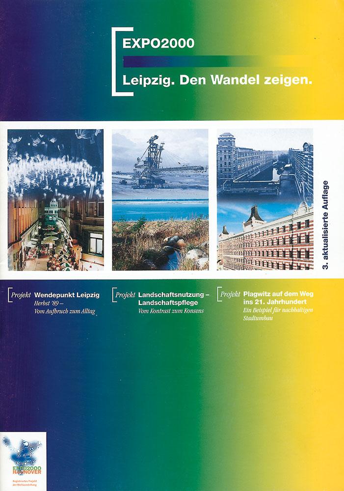 Publikation der Stadt zu ihren EXPO-Projekten