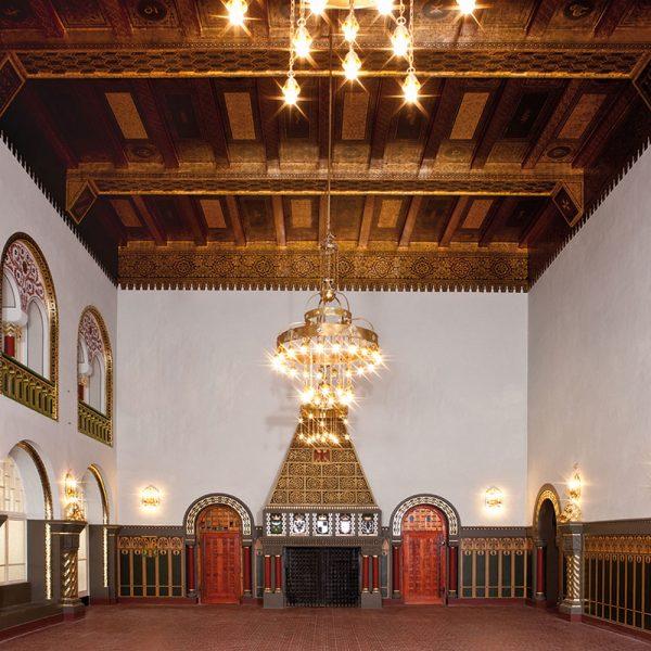 Der 1910 eingeweihte Kaisersaal nach der Restaurierung 2009/2010