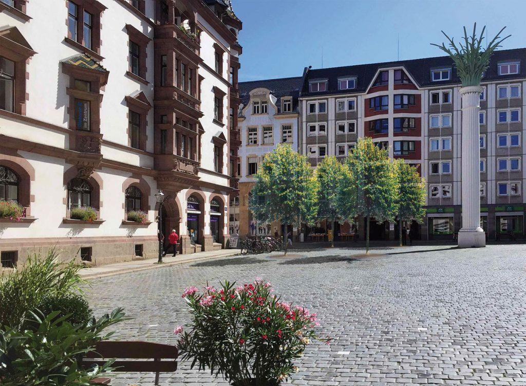 Simulation des Büros fagus l seelemann Landschaftsarchitekten aus Markkleeberg, 2016