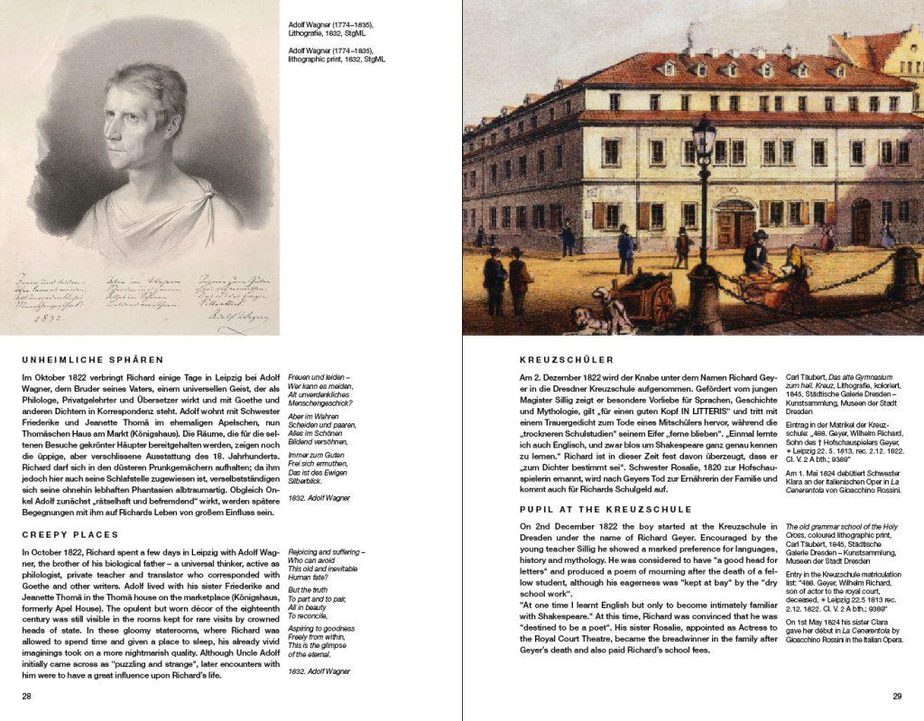 »Der junge Richard Wagner 1813 bis 1834«, aus dem Inhalt
