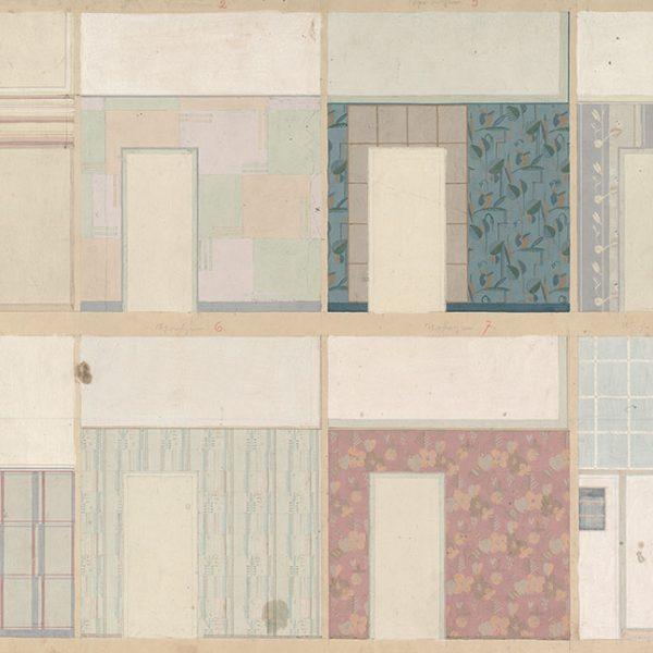 Architekturzeichnungen von Johannes Koppe