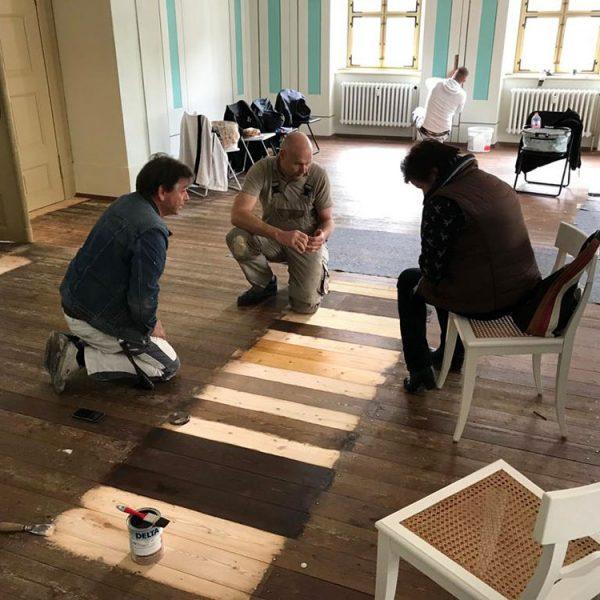 Fußbodensanierung der Richard-Wagner-Aula