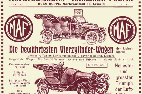 MAF-Werbung, 1910